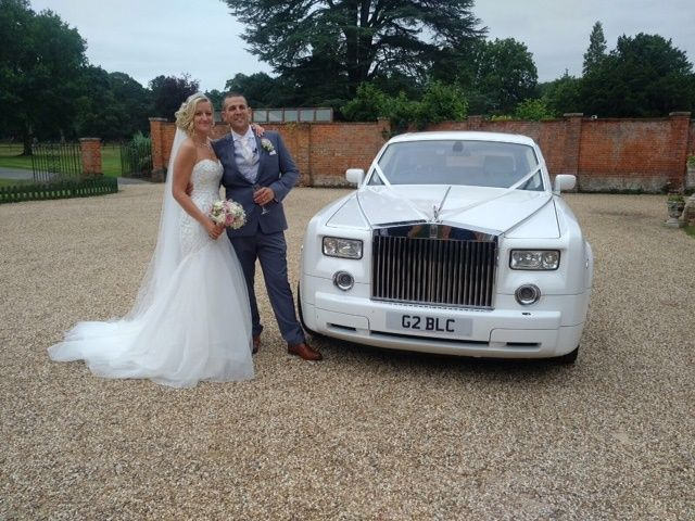 Luxury Rolls Royce Wedding Car